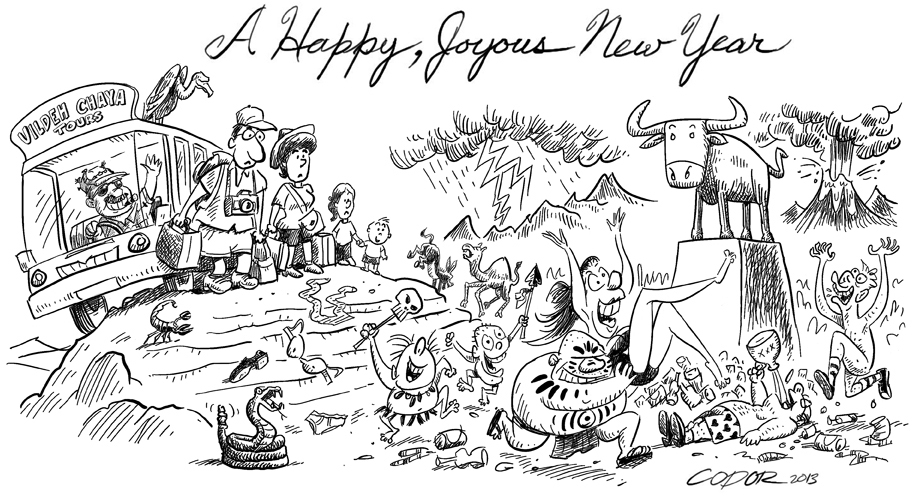 Happy New Year | Codor\'s Little Blog of Jewish Humor